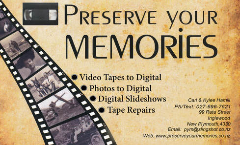 Specialist in the Preservation of VHS | Slides | Photos | Negatives