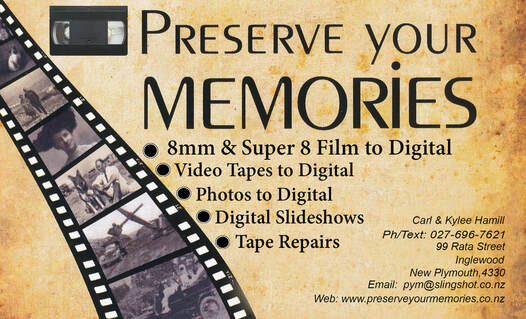 Specialist in the Preservation of VHS | Slides | Photos |